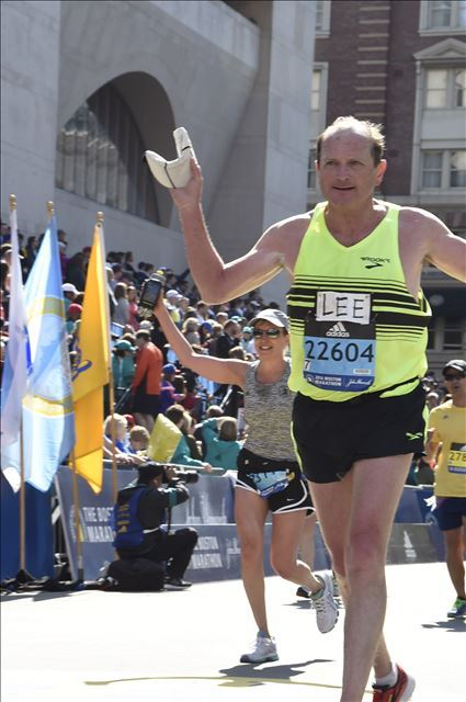 Finishing Boston Marathon 2016