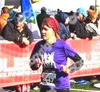 Laura passed me early and made sure the finish line would be ready for me when I would eventually arrive.