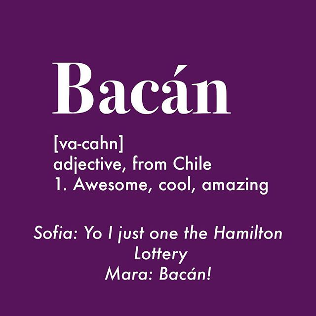 As in just got tickets to see Beyonce & Jay-Z in Detroit this summer! . . . . . . . #bacan #chileansbelike #chileanslang #latinablogger #latinasbelike #squad #slang #chile #latinasbelike #spanishlanguage #spanishslang #hispanics #hispanic #weallgrow #wordoftheday
