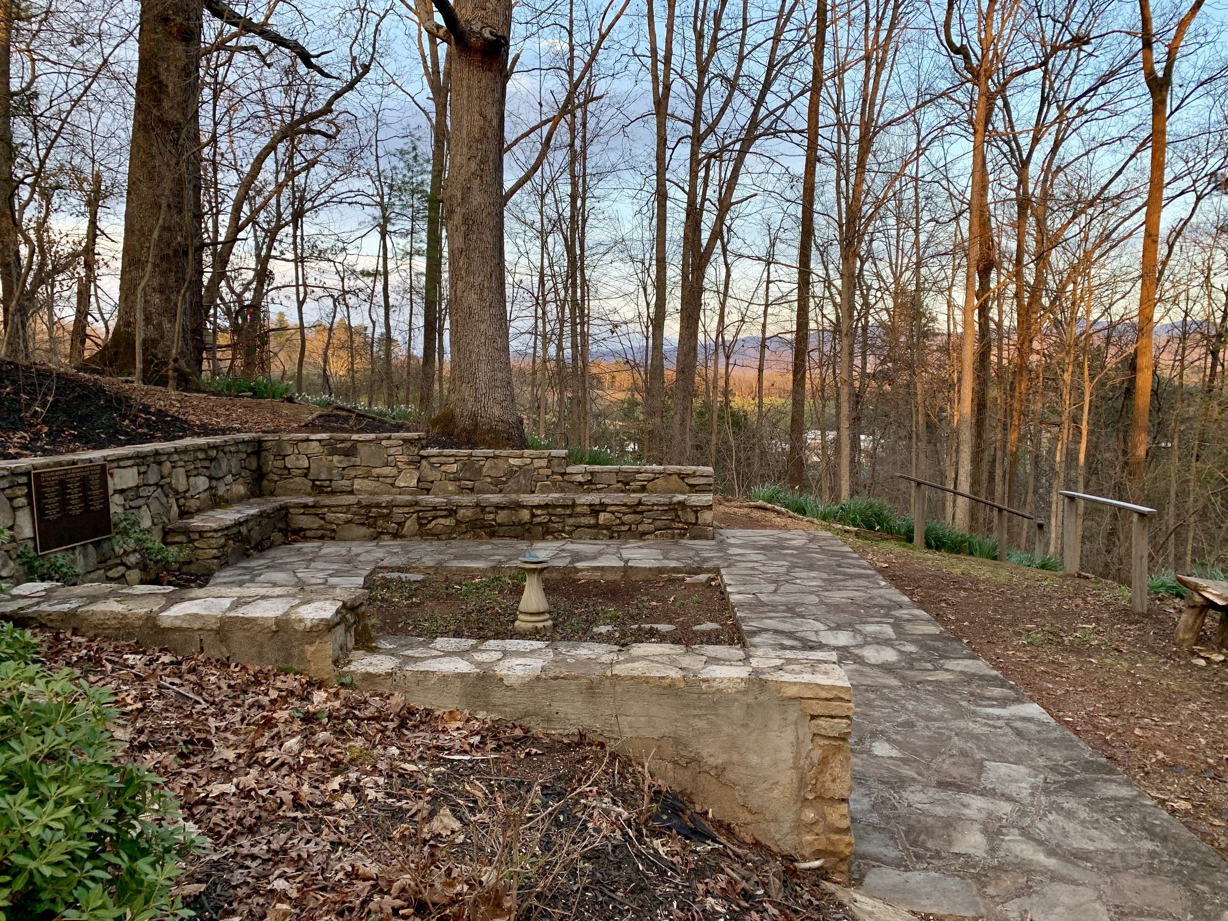 The Memorial Garden - at Mars Hill United Methodist Church