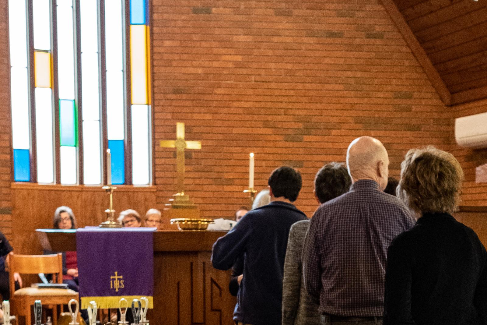 WORSHIP WITH US ON SUNDAY - Worship - Sundays @ 11 amSunday School - Sundays @ 9:45 amHoly Communion - first Sunday of each month