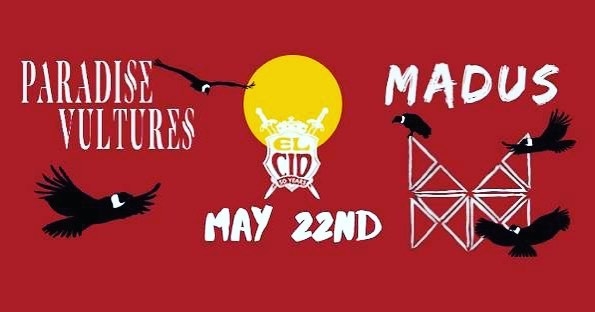 Can't wait to be back at @elcidsunset with our boys @madusmusic on 5/22. Doors at 8pm. Come shake yer butts. ⠀⠀⠀⠀⠀⠀⠀⠀⠀ • ⠀⠀⠀⠀⠀⠀⠀⠀⠀ • ⠀⠀⠀⠀⠀⠀⠀⠀⠀ • ⠀⠀⠀⠀⠀⠀⠀⠀⠀ • ⠀⠀⠀⠀⠀⠀⠀⠀⠀ #rock #live #newmusic #alternative #garagerock #supportnewmusic #independentmusic #livemusic #newartist #newband #grunge