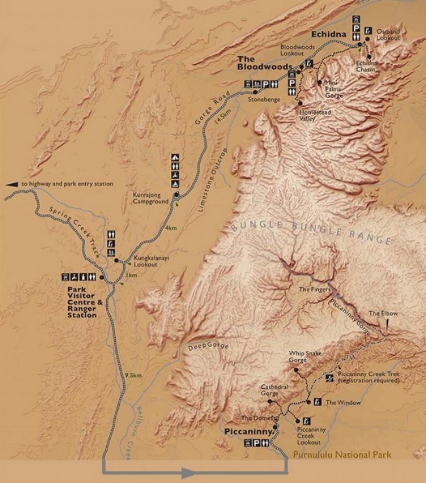 The Bungle Bungle Ranges