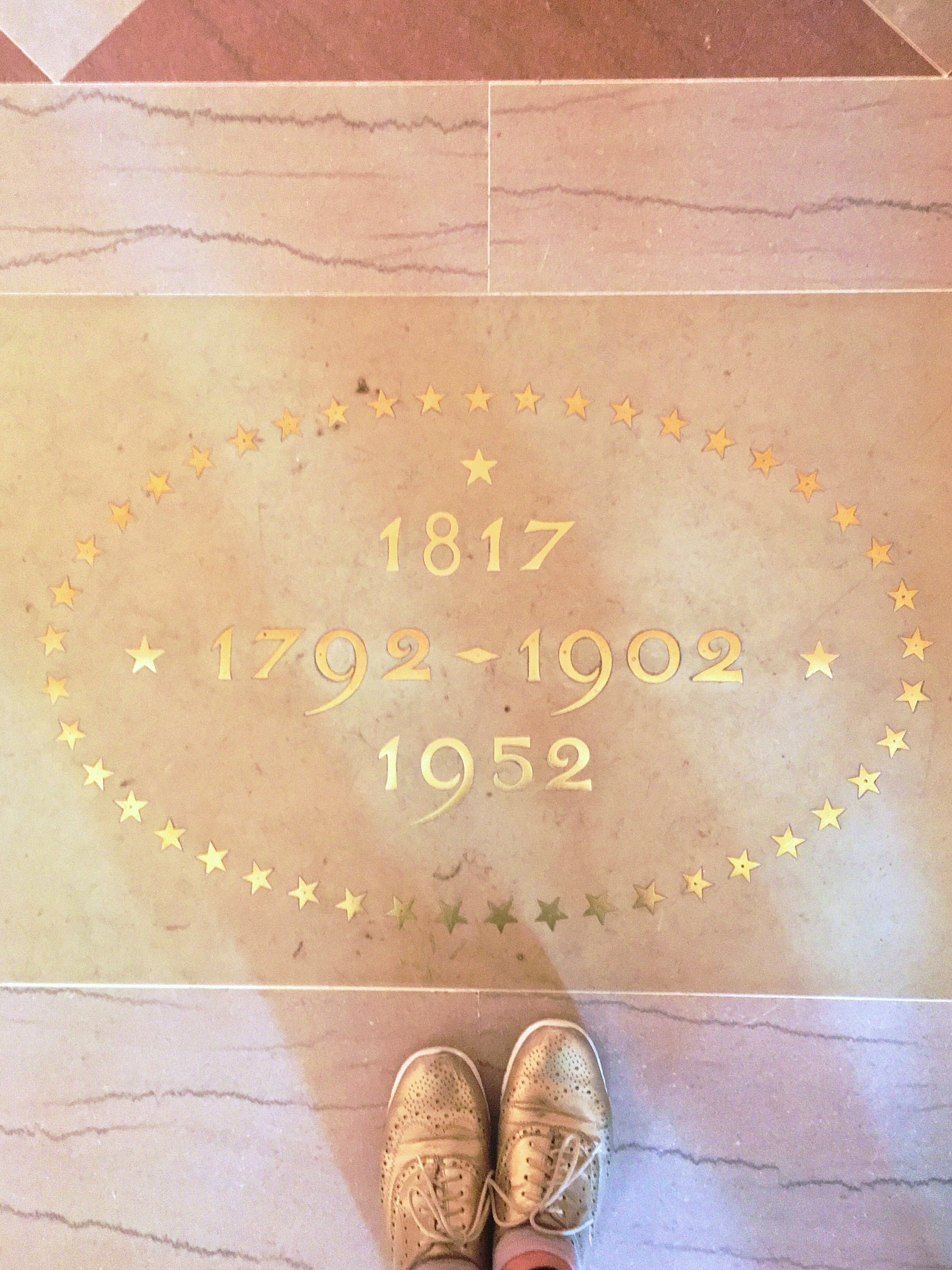 #ihavethisthingwithfloors. Especially the ones in the Entrance Hall of the White House.