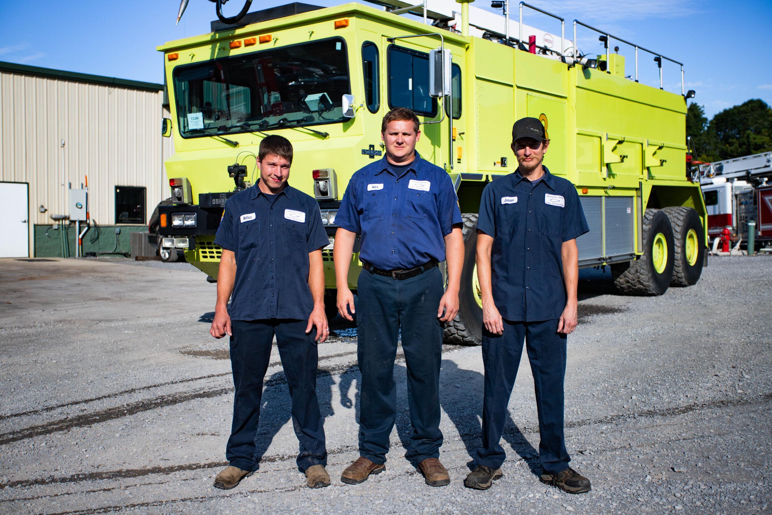 Nathan Mazur, Alex West, Jason Welborn