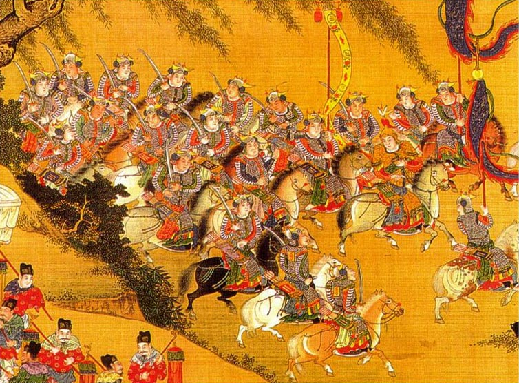 painting-of-Ming-Dynasty-military-calvaries-and-weapons.jpg