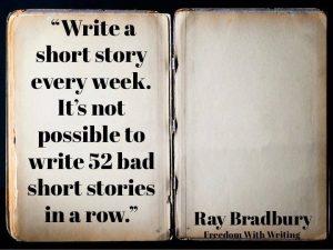 Ray bradbury write a story
