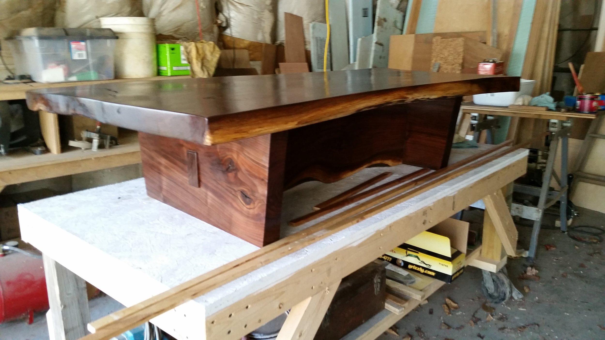 Walnut Coffee Table   $1,250 (sold)