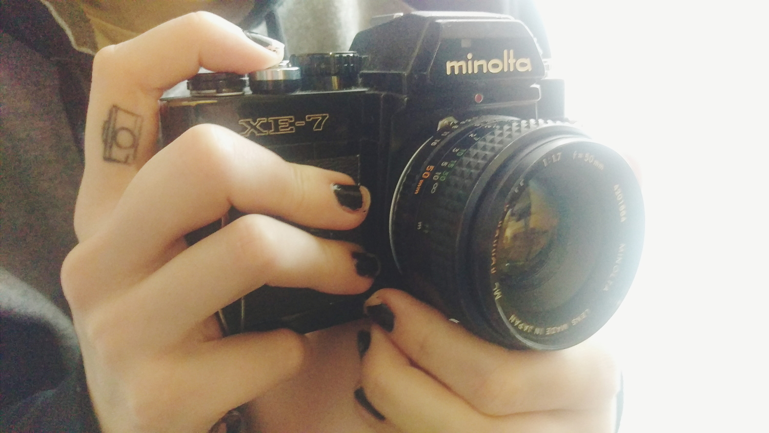 10. I first learned the ways of manual mode on my Grandpa's old 35mm Minolta. I LOVE this camera and still shoot it all the time.