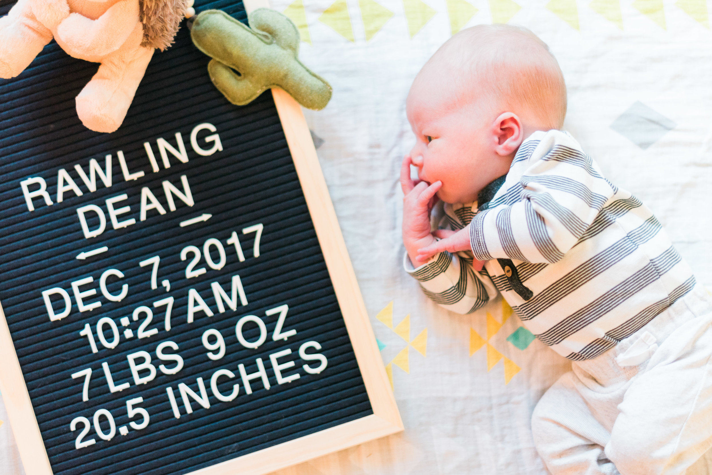Brooke Summers Photography | Baby Photography | Birth Announcement