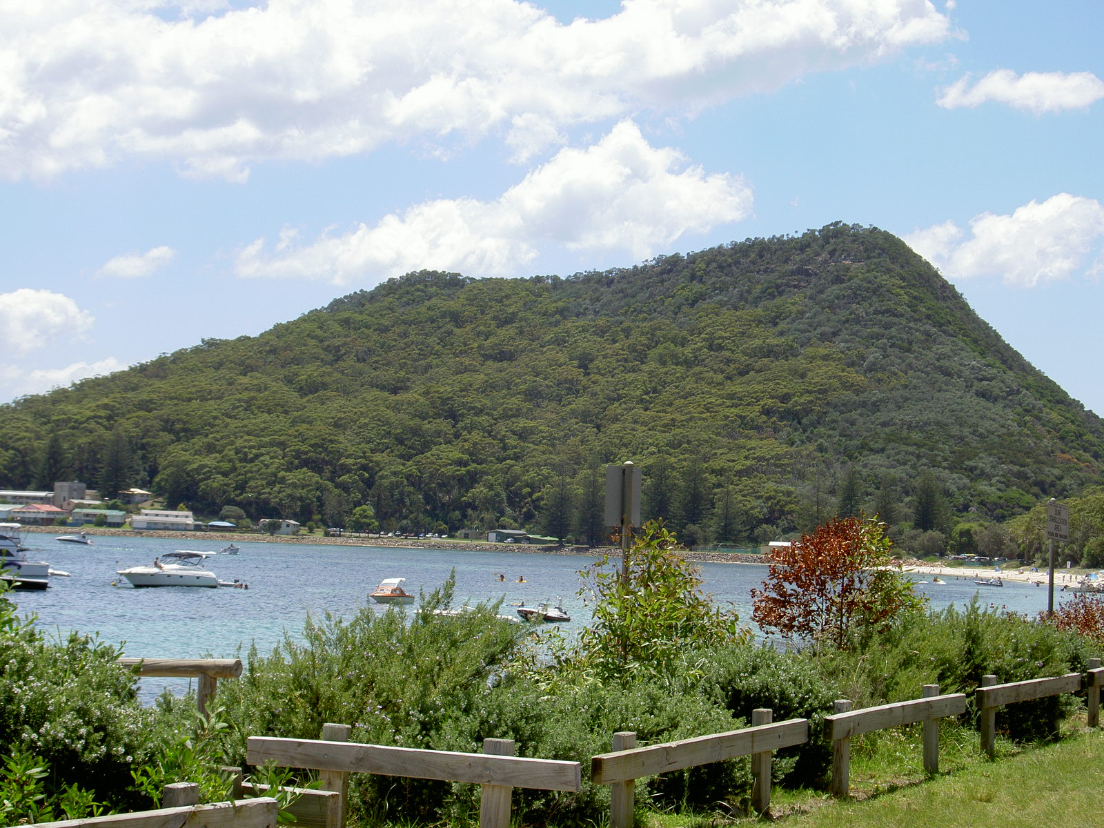 View from Shoal Bay Resort & Spa.JPG