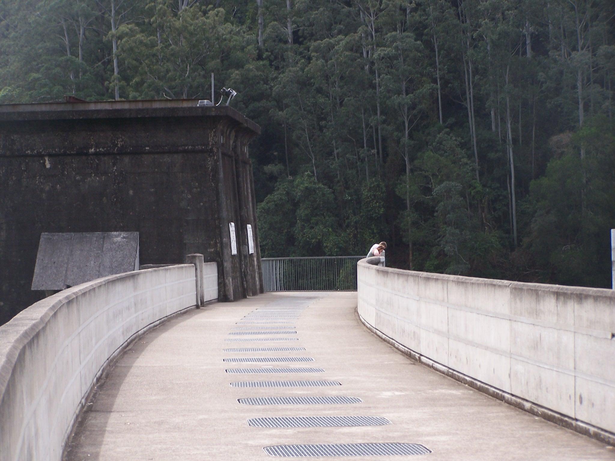 Glenbawn Dam walkway, UHSC.JPG