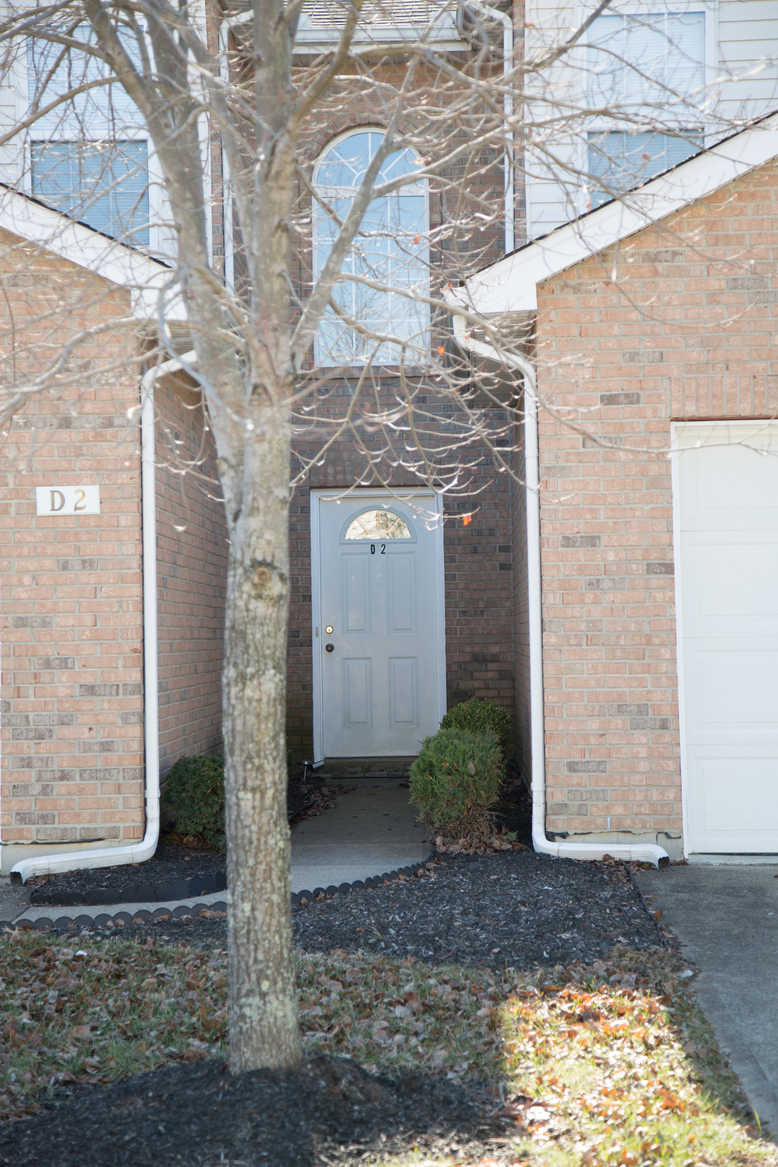 Private Entrance to Townhome