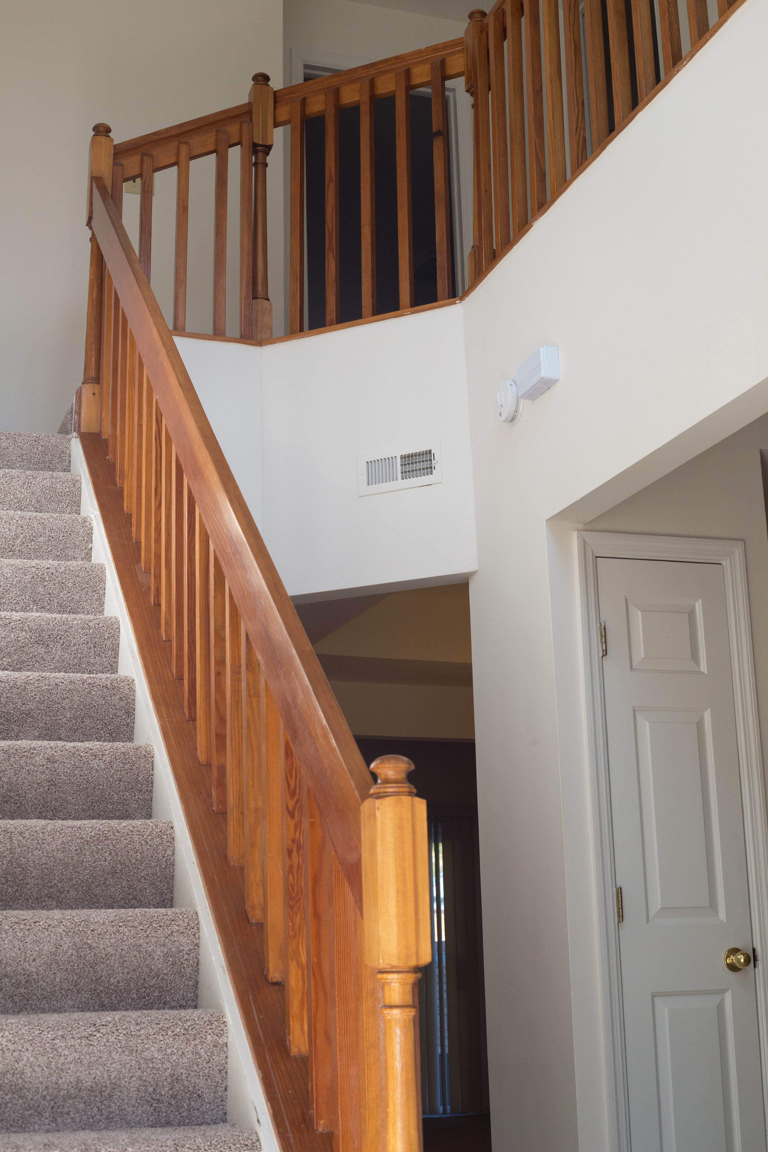 Open Foyer with Stairs to the Second Floor