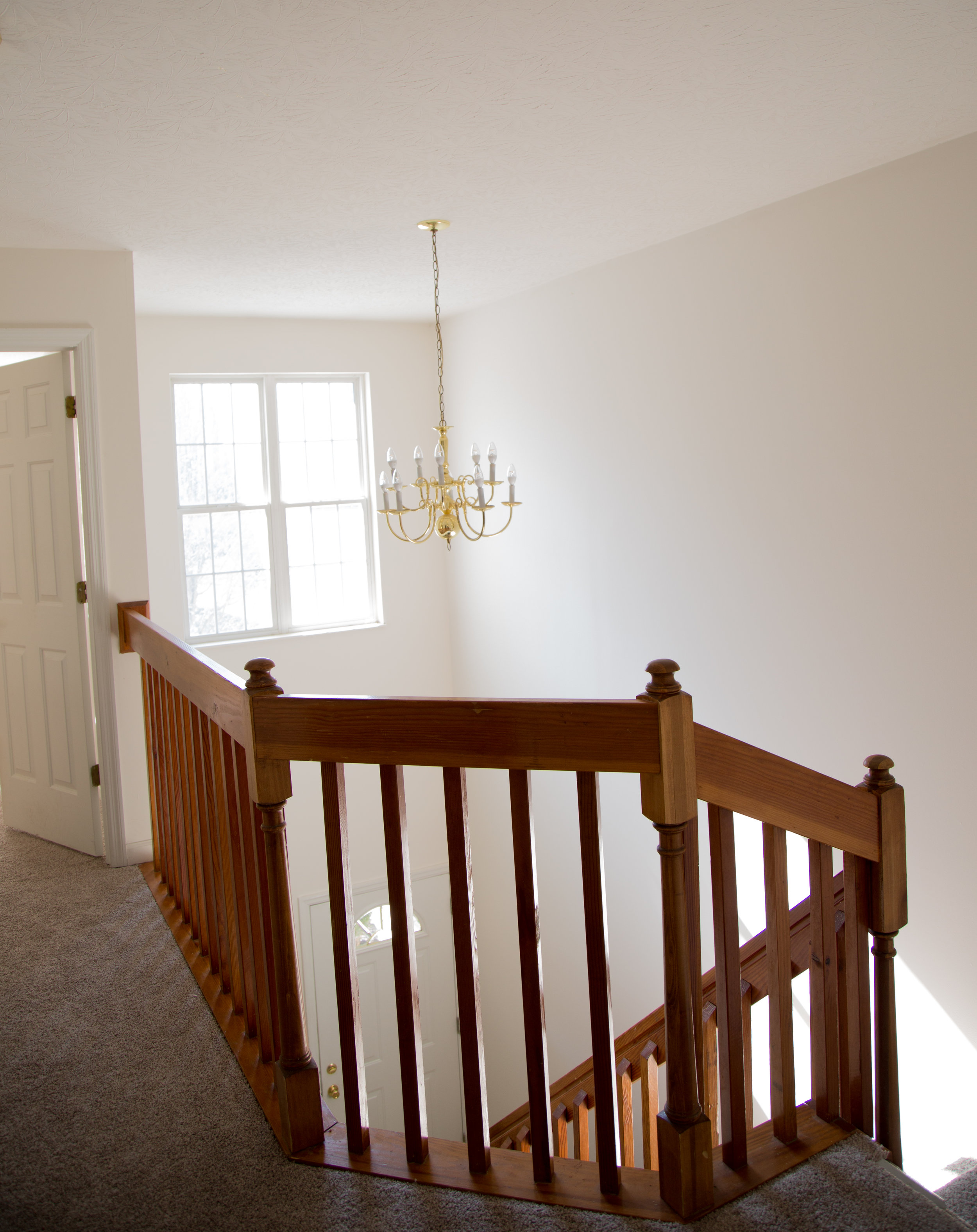 View of Open Foyer, Second Floor