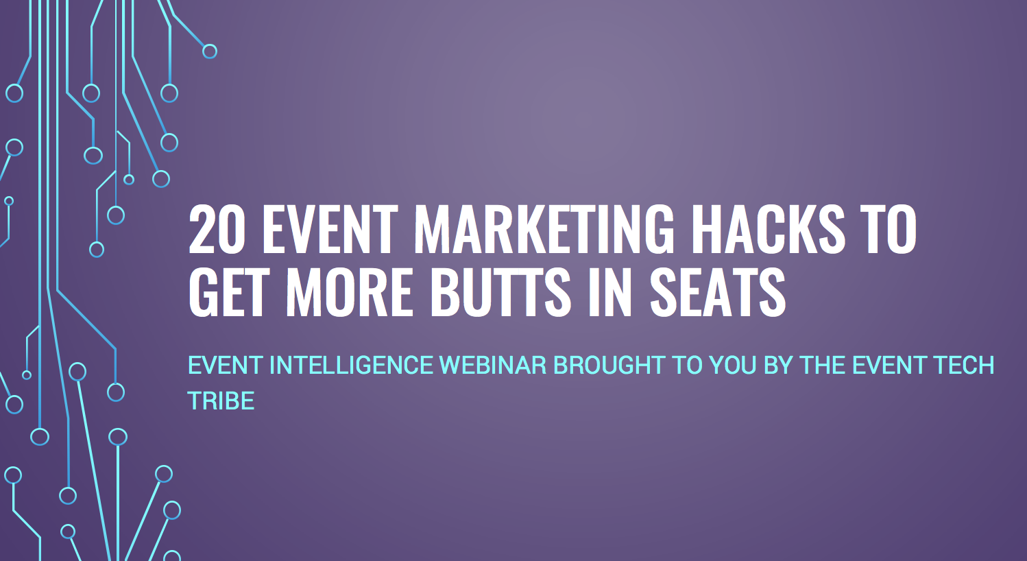event marketing hacks