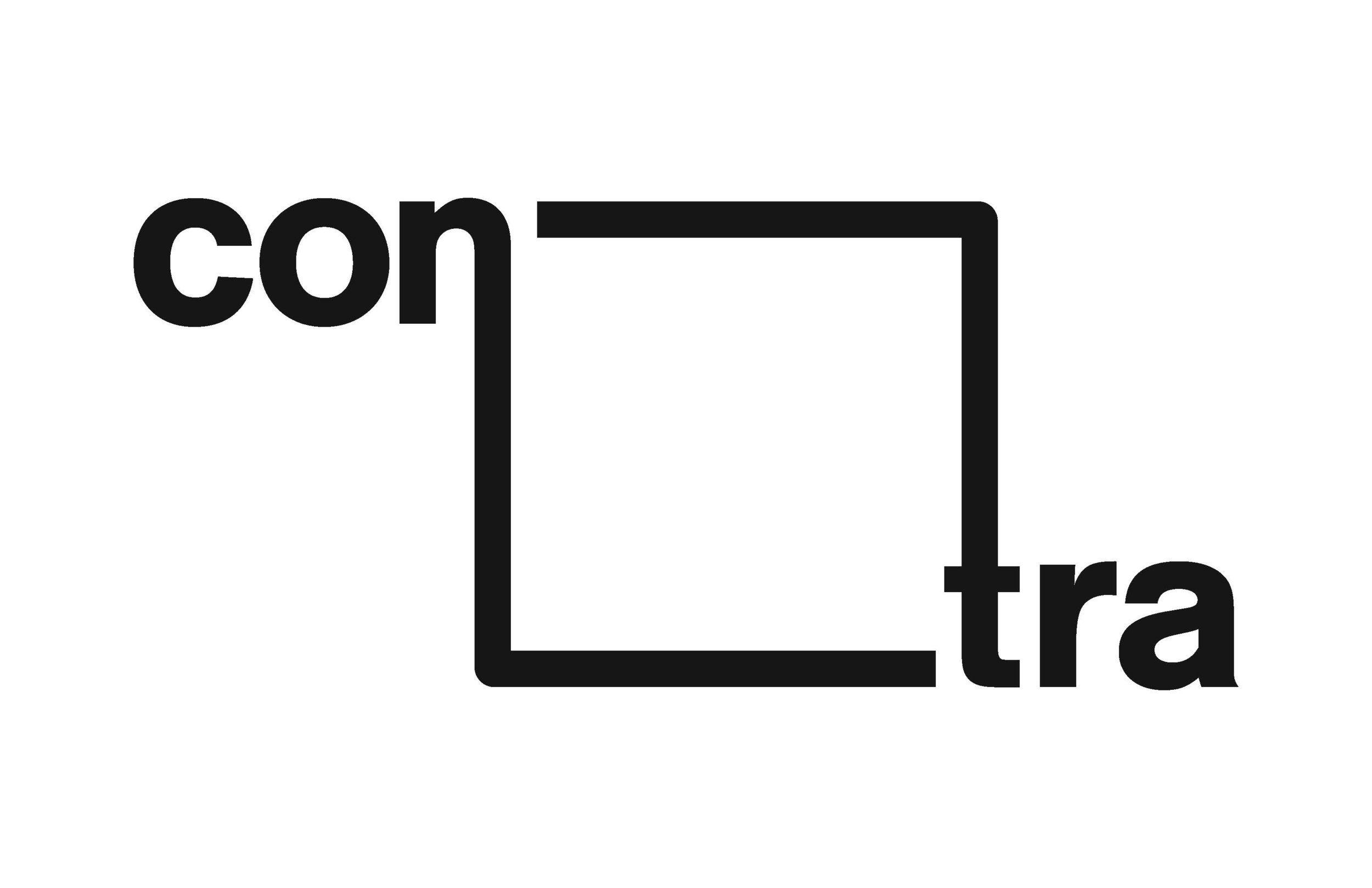 "The word ""contra"" was chosen because it means ""against"" or ""contrary"". This embodies the spirit of the conference in that designers will be placed outside of their comfort zone, introduced to new information and skills, and forced to work with strangers. Additionally, the square in the middle of the logo is used throughout the branding to frame content as if its emerging from this square. This reinforces the meaning of ""contra"", representing breaking the norm, stepping outside your comfort zone, thinking outside the box."