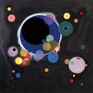 Wassily Kandinsky –  Several Circles  (1926) –   Source