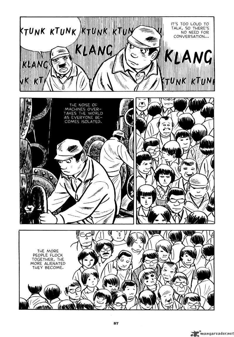 "Yoshihiro Tatsumi – ""Beloved Monkey.""  Abandon the Old in Tokyo.  Drawn and Quarterly, 2012: 87 –   Source"
