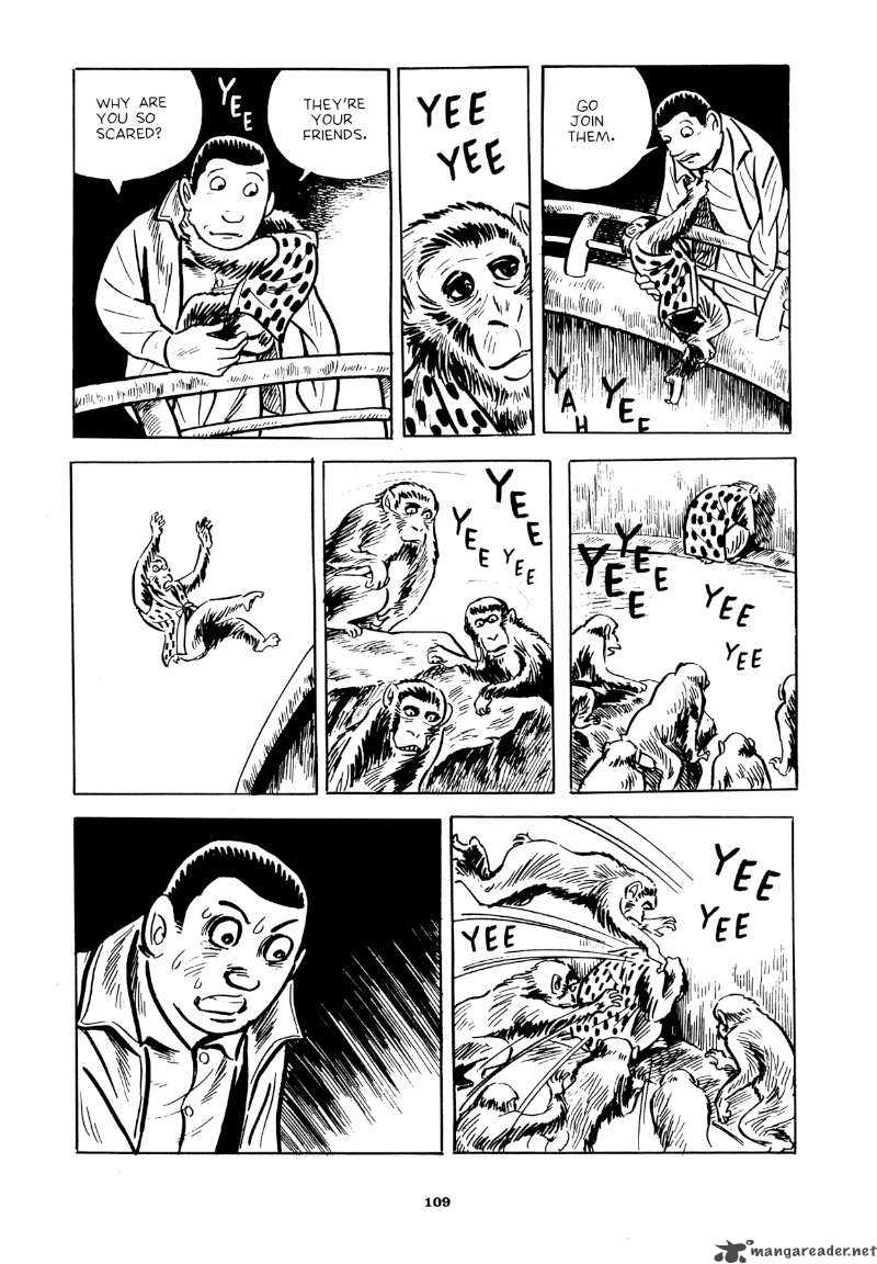 "Yoshihiro Tatsumi – ""Beloved Monkey.""  Abandon the Old in Tokyo . Drawn and Quarterly, 2012: 109 –   Source"