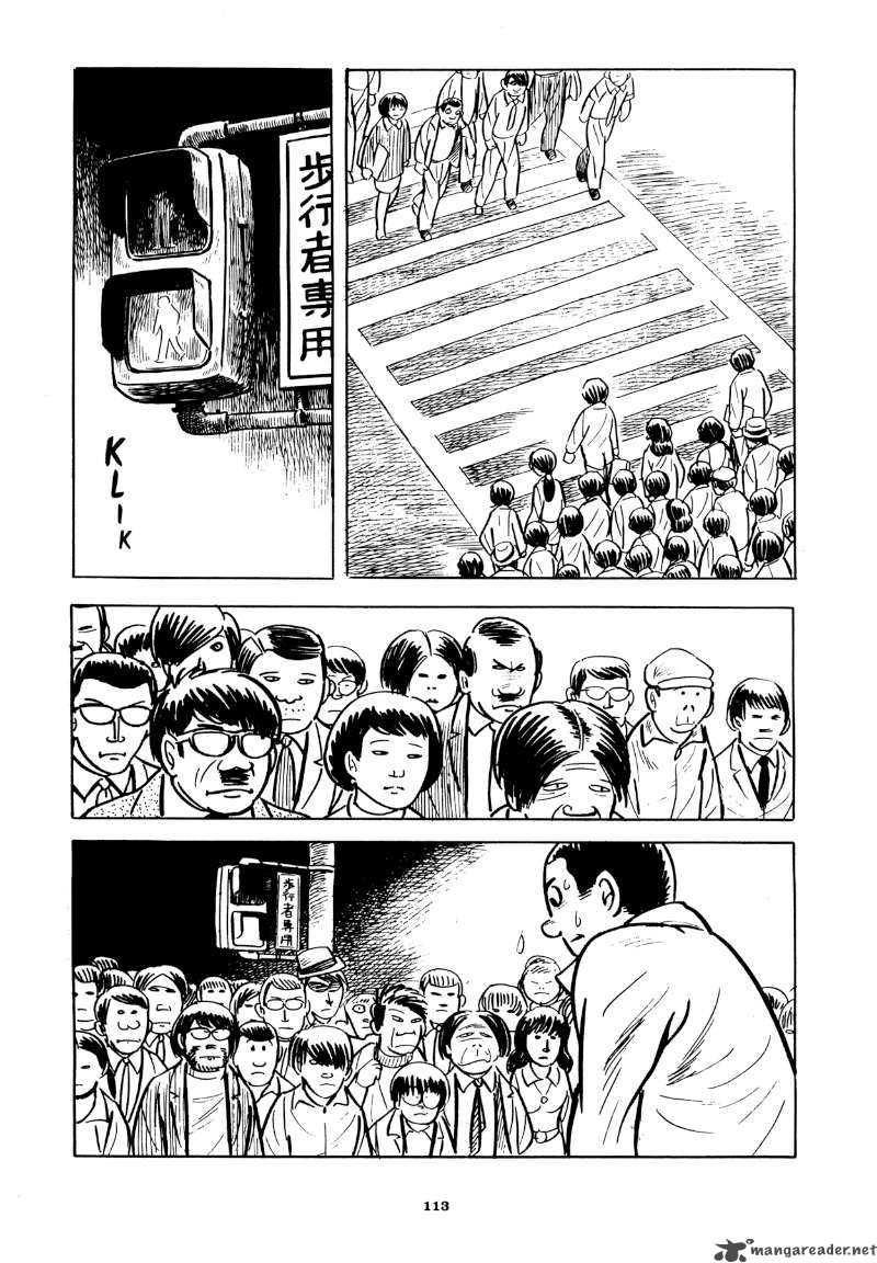 "Yoshihiro Tatsumi – ""Beloved Monkey.""  Abandon the Old in Tokyo.  Drawn and Quarterly, 2012: 113 –   Source"