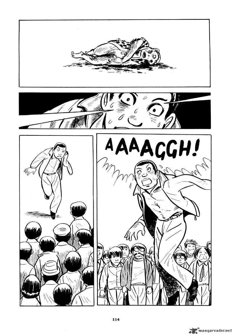 "Yoshihiro Tatsumi – ""Beloved Monkey.""  Abandon the Old in Tokyo.  Drawn and Quarterly, 2012: 114 –   Source"