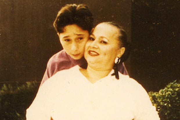 Griselda with her son Michael Corleone –   Source