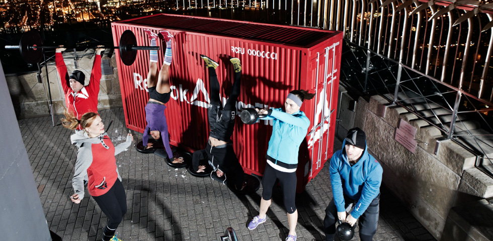 CrossFit athletes –   Source