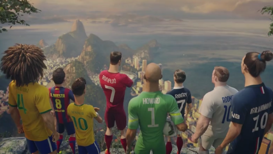 Nike's animated athletes –   Source