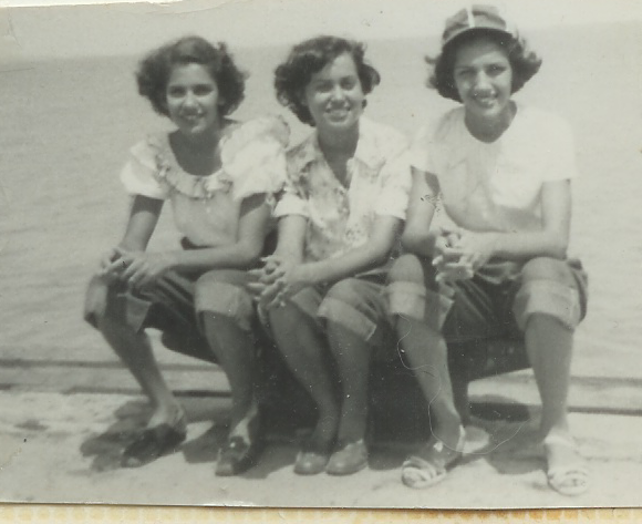 mama (far right) w_ cousin cuca and friend.png
