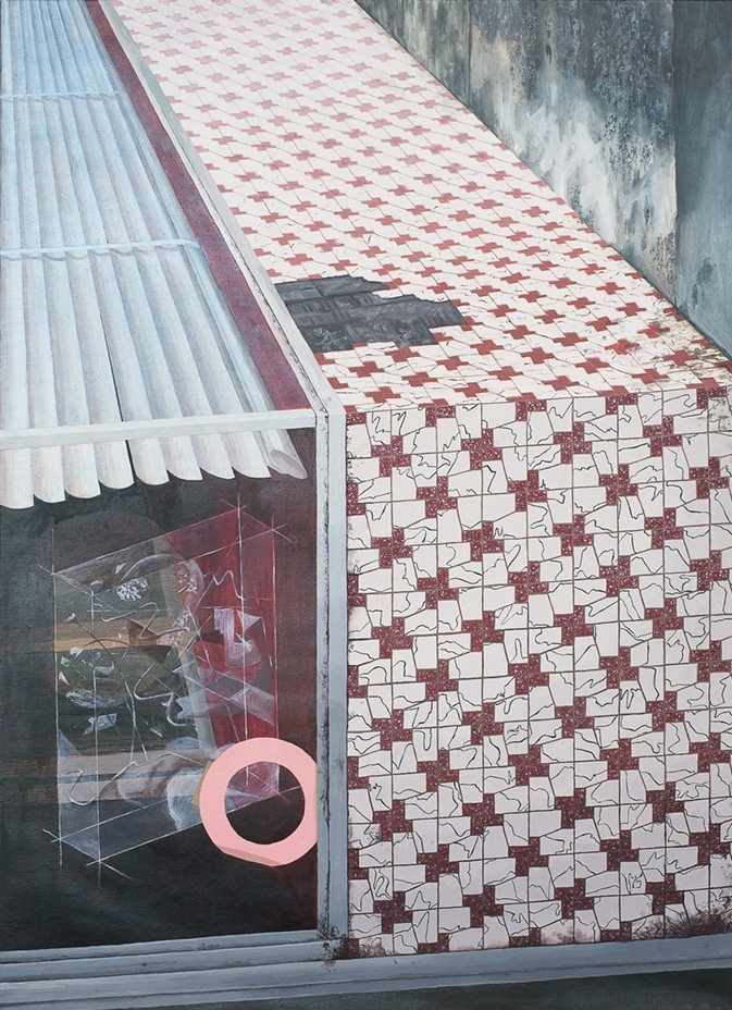 Untitled (Tiled Shopfront), 2016
