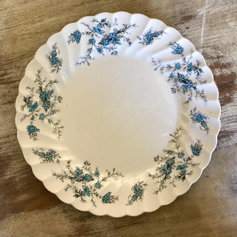 "Bluebird China Salad or Dessert Plate.    7""-8"" Salad or Dessert Plate. Mismatched."