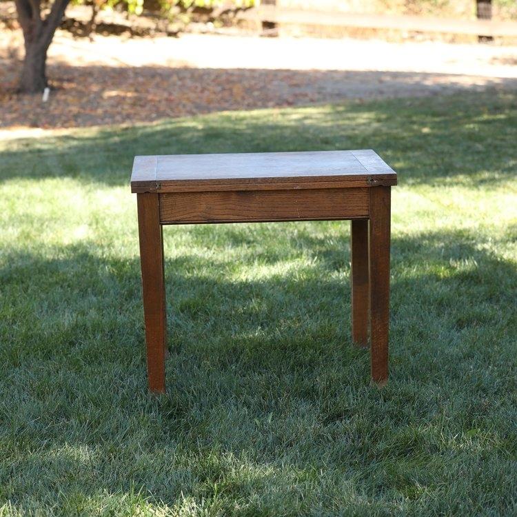 Oak tri-fold table. Square or rectangle.