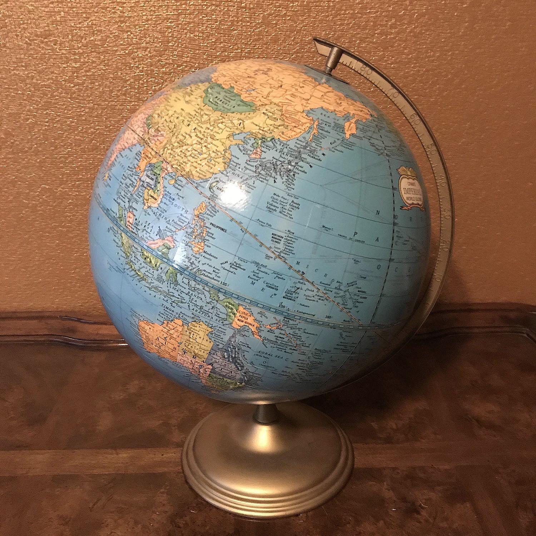 Globes   Vintage globes. Great for your Boho event.