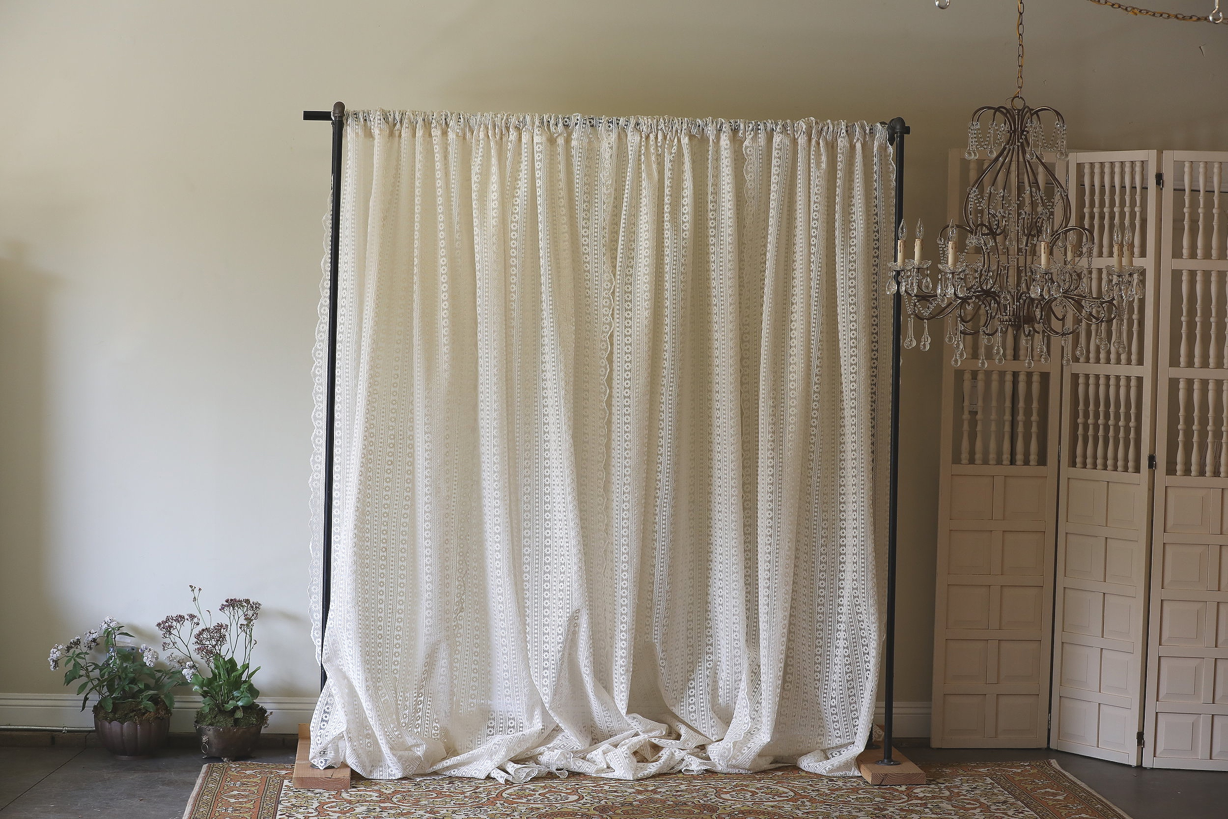 Lace Curtain Backdrop