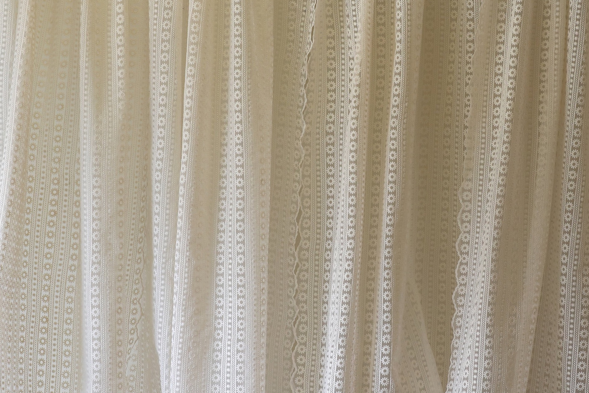 Boho Lace Curtain
