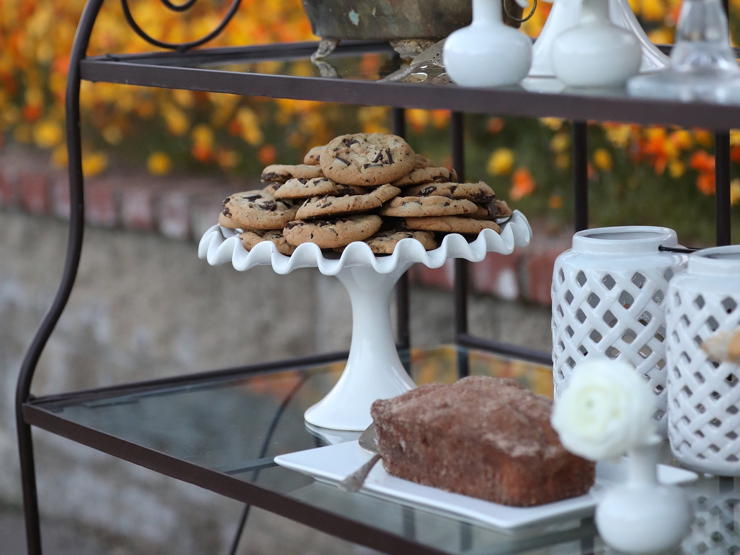 Cookie Dessert  Plate