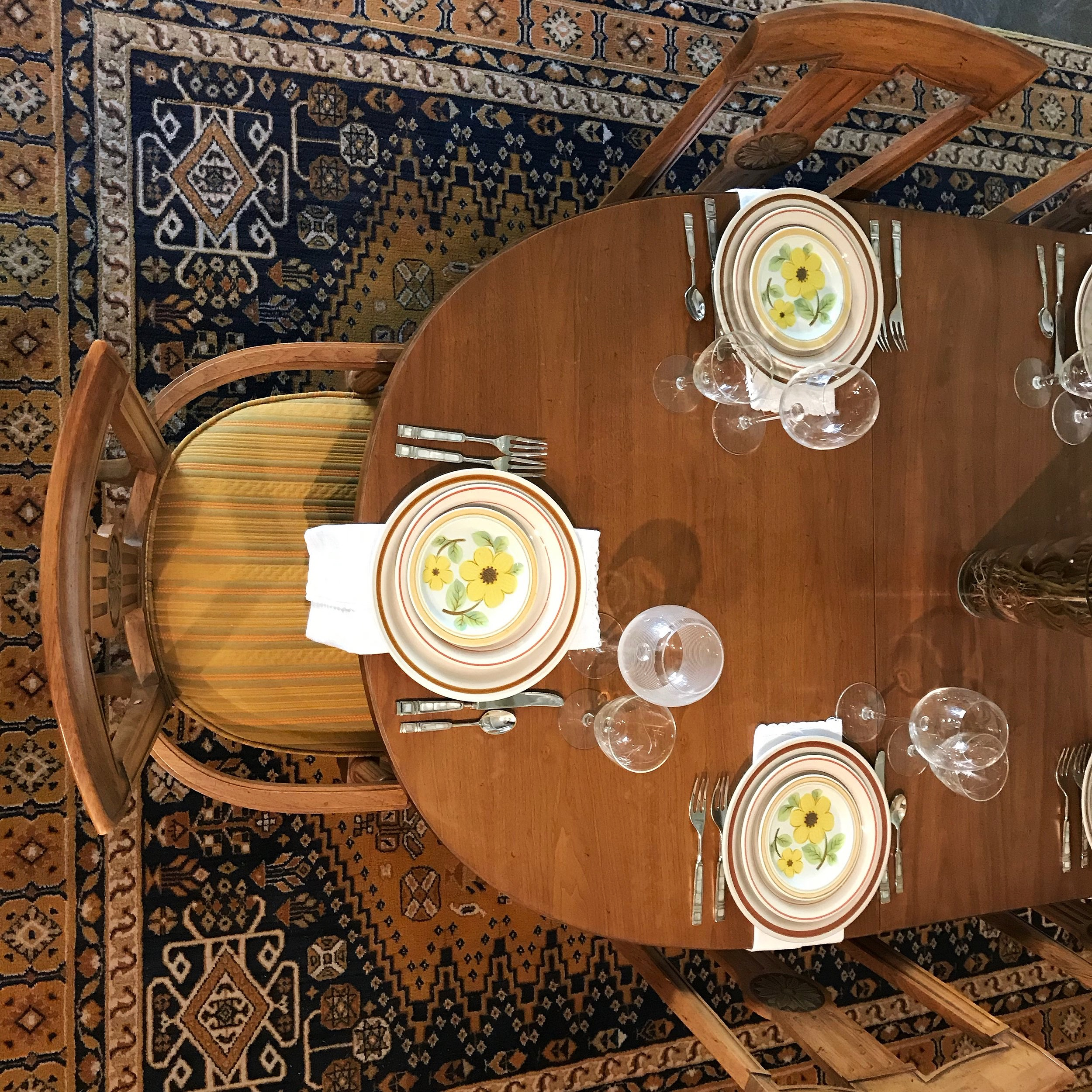 Birdseye View of MCM Dining Room