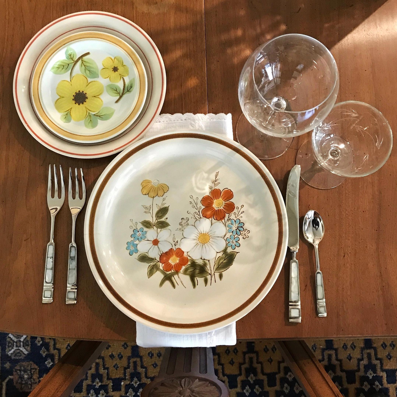 Mismatched Vintage Stoneware