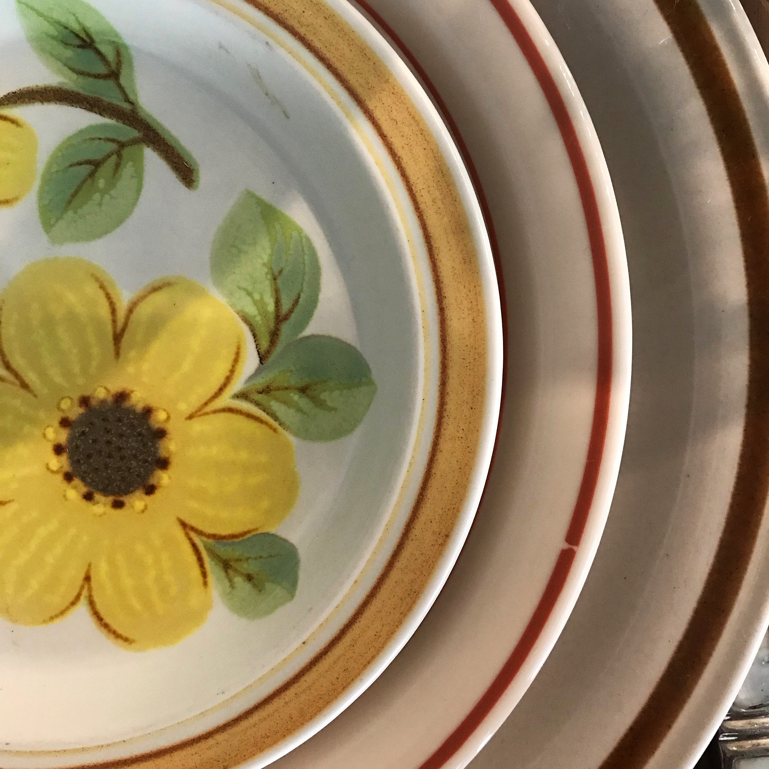 Vintage Stoneware Dishes