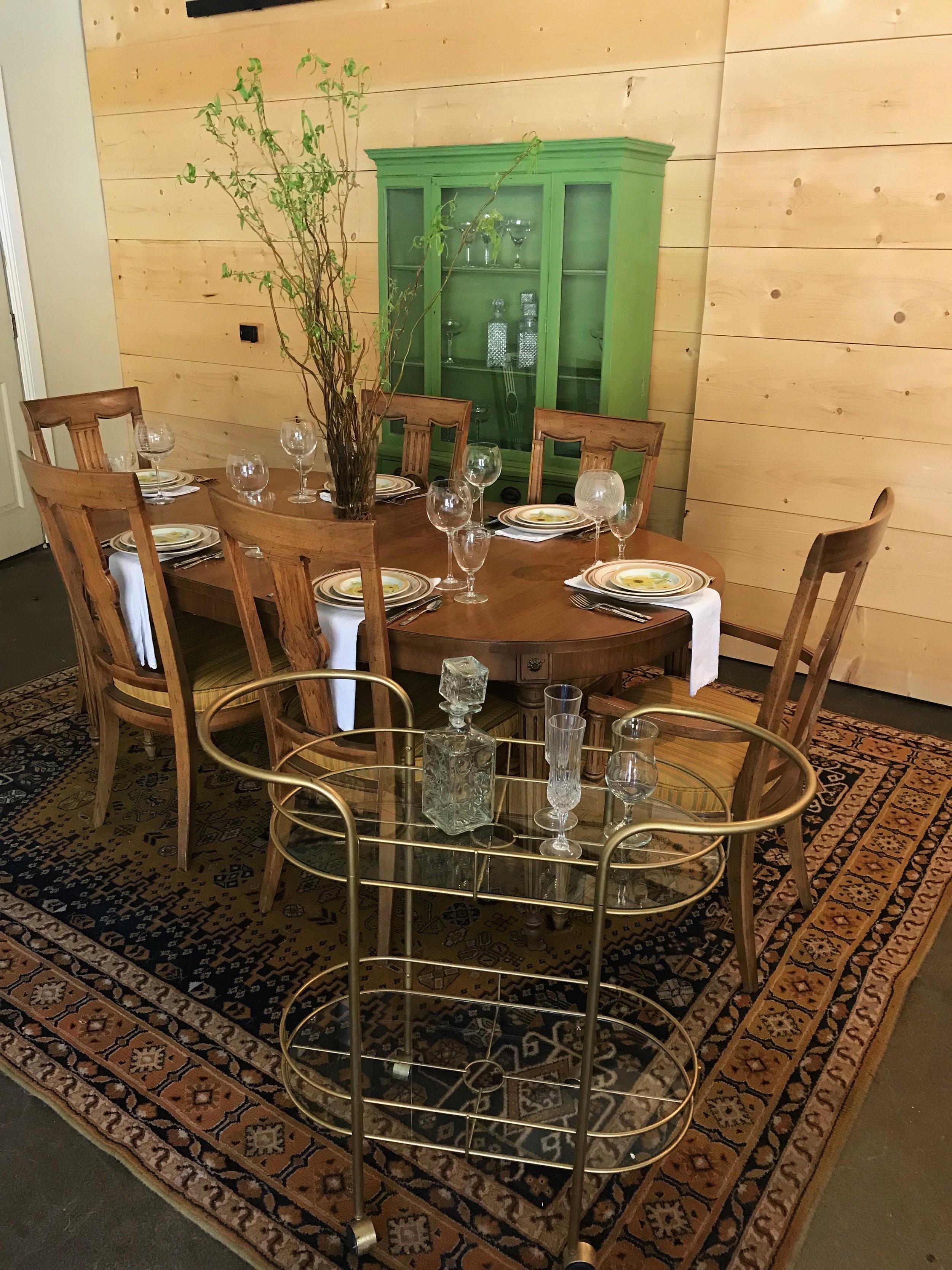 Vintage Mid Century Modern Dining Room