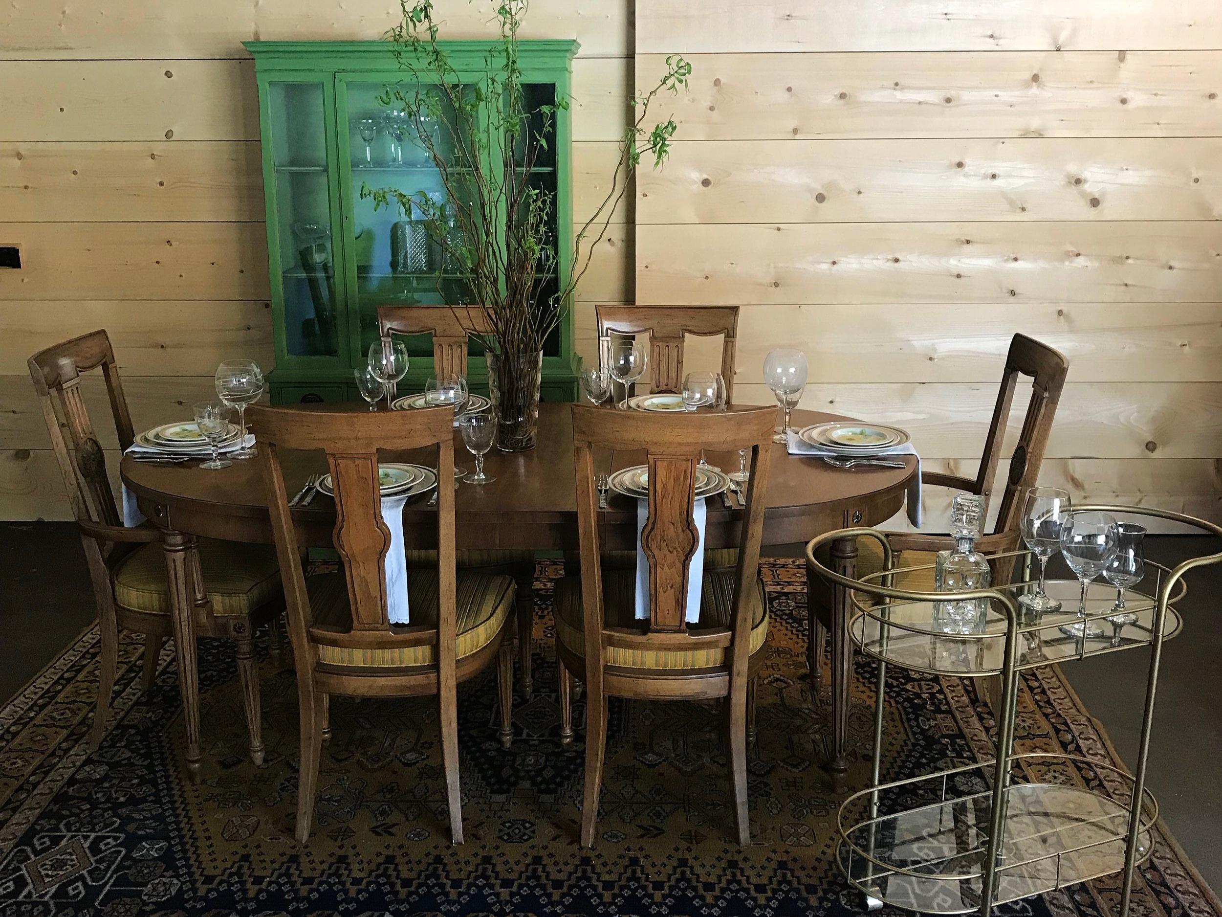 Cozy Mid Century Dining Room