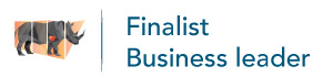 """Business Leader"" finalist 2017, Rhino Awards, Dubbo."