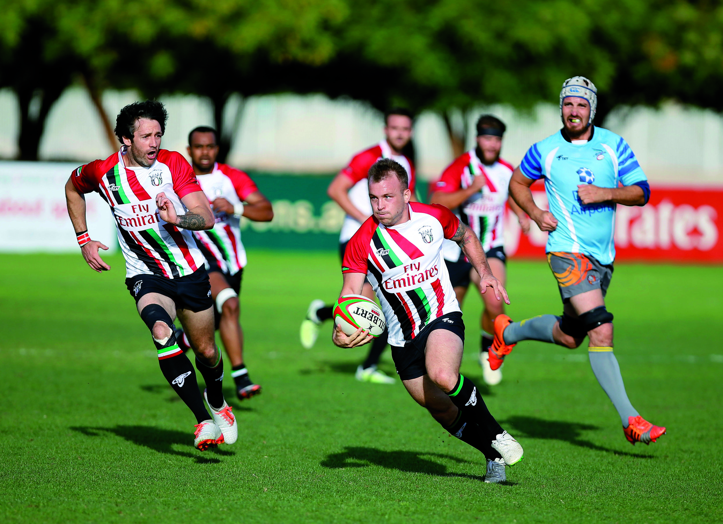 UAE Warm up games