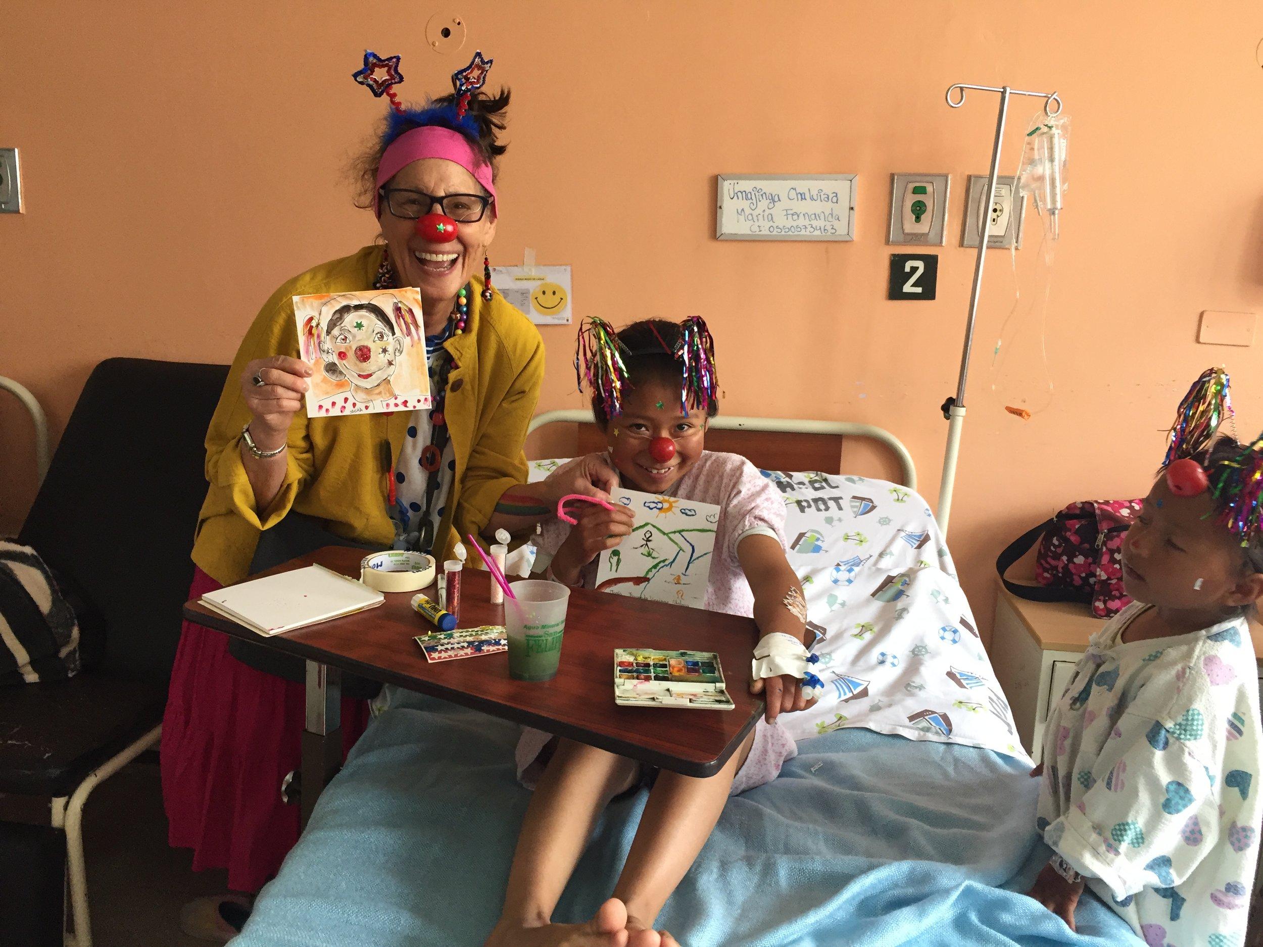 Humanitarian Clown work-2016  Ecuador