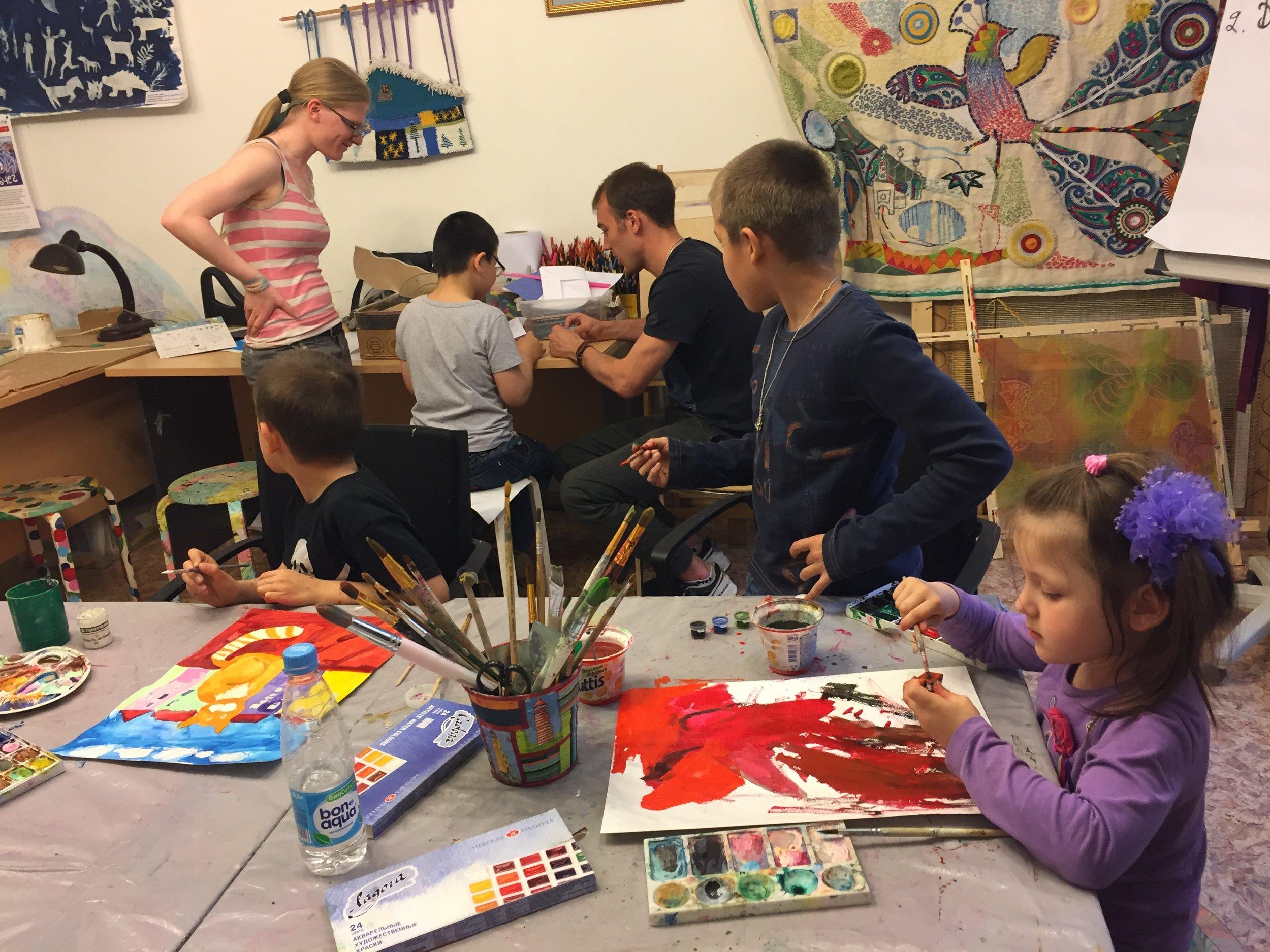 Maria's Children-Orphan Program 2016  Moscow
