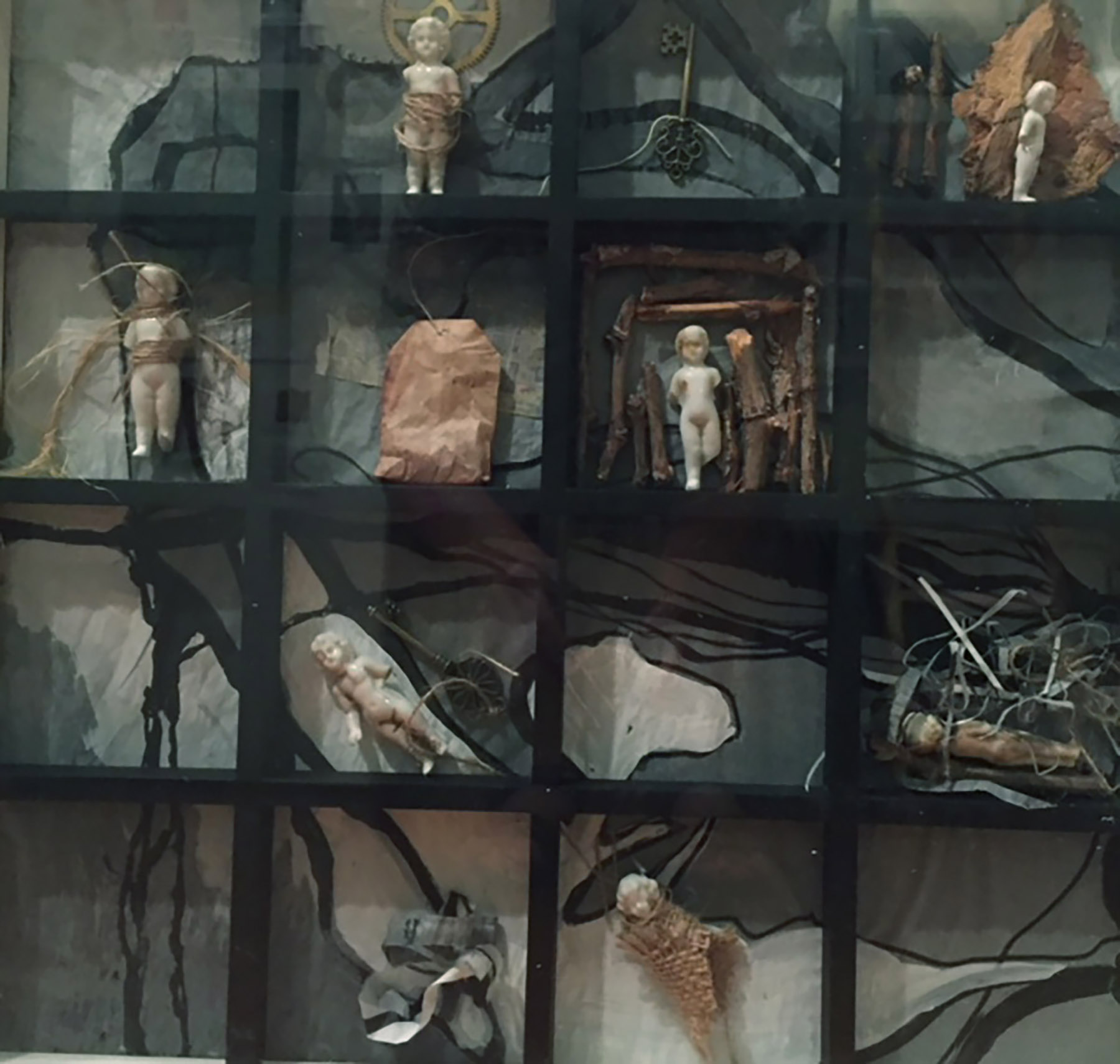 Her Story- Mixed Media by Sally Brucker