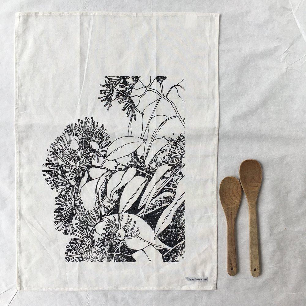 Flowering Gum Tea Towel