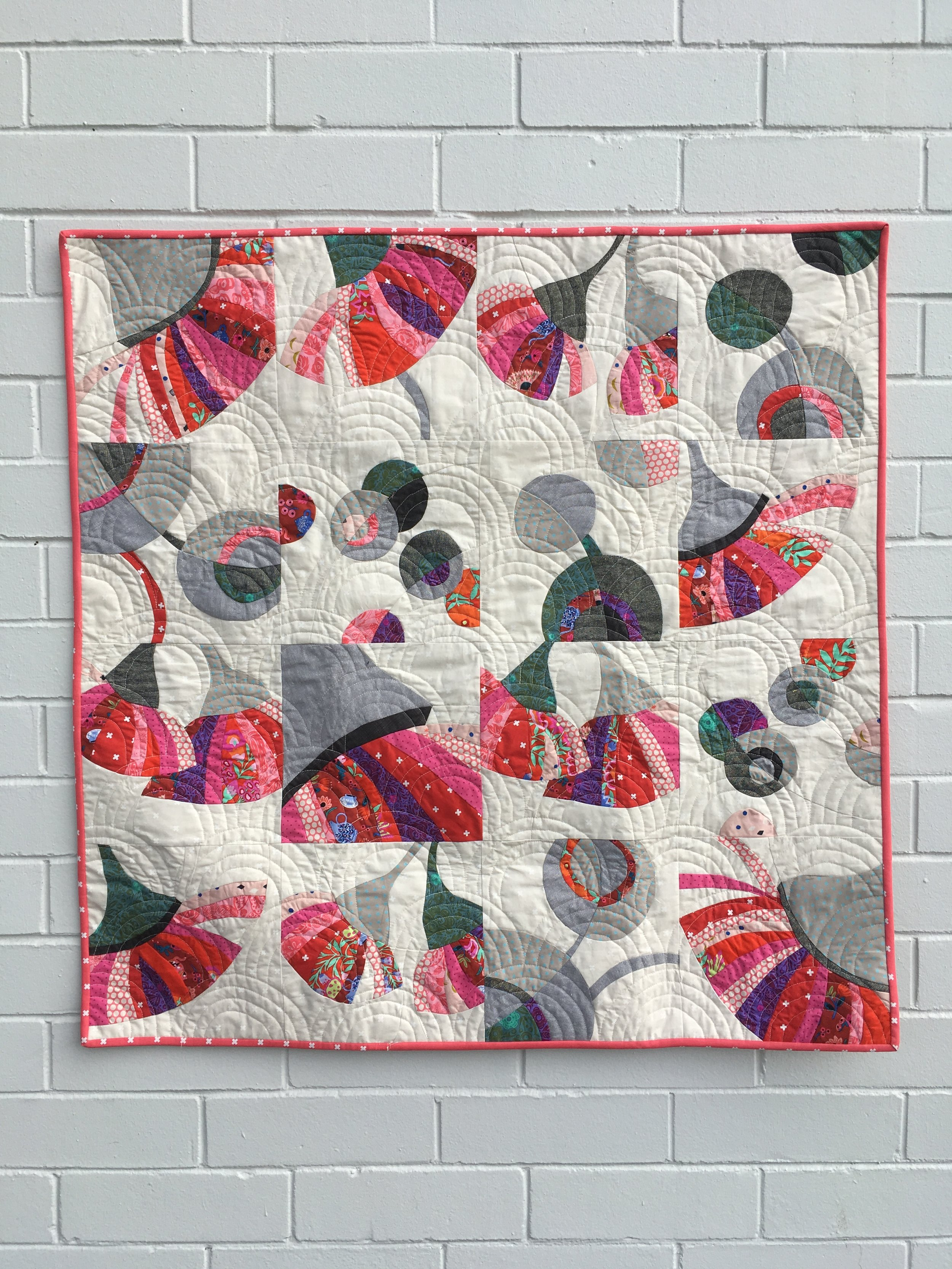 Blossom Bounty: pattern included in 'Pieced'