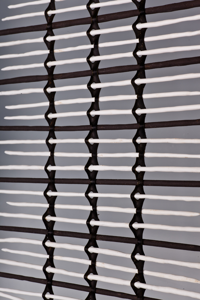 JaneBamford 2017 Weaving Uk Black & Southern Ice porcelain Spines and Bull Kelp 'Across Oceans' Detail 1400mm x 520mm.jpg